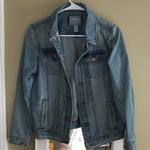 Forever 21 Light Wash Jean Jacket